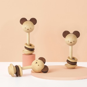 'nice to mitch' Rattle toy